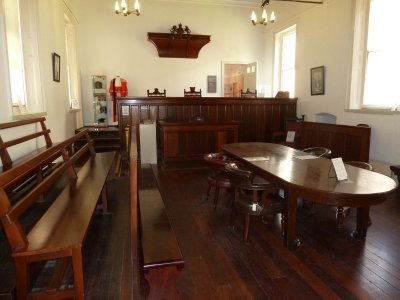 The Courtroom at the Old Court House, Perth
