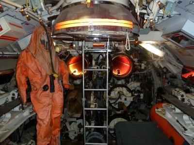 Forward Torpedo Room within HMAS Ovens