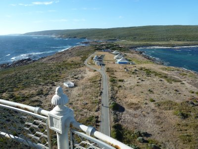 The view of the rest of Australia from Cape Leeuwin Lighthouse