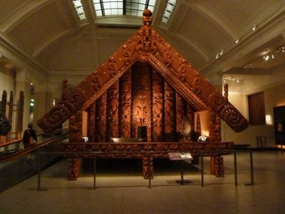 Large Maori Pataka (Storehouse)
