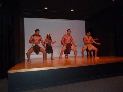 Haka War Dance