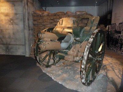 World War I Field Gun at the Auckland Museum
