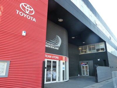 The Headquarters of the New Zealand America's Cup Team