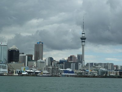 View of Auckland from the Waitemata Harbour