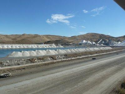 The Salt Works at Lake Grassmere