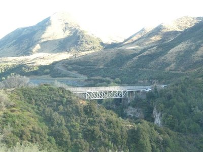 One of many spectacular viaducts we had to cross as we made our way across the mountains