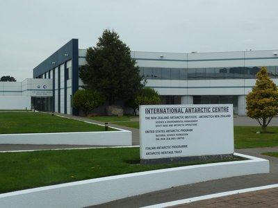 The Antarctic Terminal at Christchurch Airport