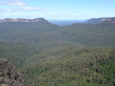 The Jamison Valley and Blue Mountains