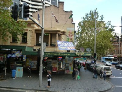 Scruffy Murphys - the most famous Irish Bar in Sydney