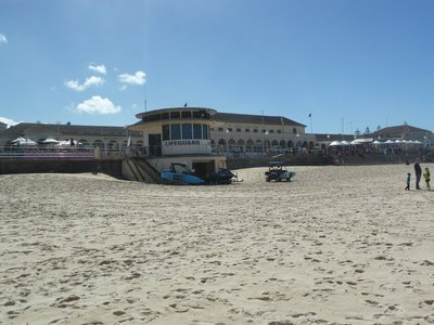 The Lifeguard Lookout and Pavilion on Bondi Beach
