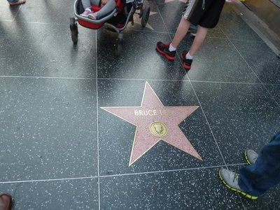 Bruce Lee's Star on Hollywood Boulevard