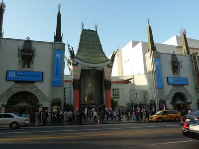 The Chinese Theatre on Hollywood Boulevard