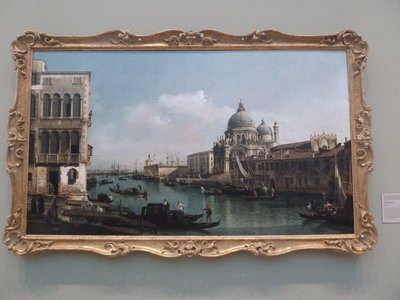 Entrance to the Grand Canal Venice by Bernando Bellotto