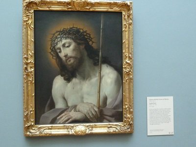 Christ with the Crown of Thorns by Guido Reni (1637)