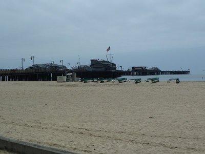 Santa Barbara Pier and Stearns Wharf
