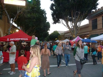 The Thursday night Farmer's Market in San Luis Obispo