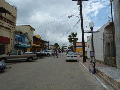 Street scene in Puerto Nuevo