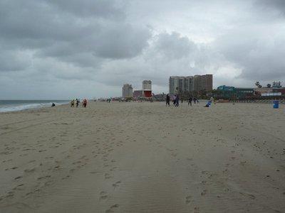 The beach at the Rosarito Beach Hotel