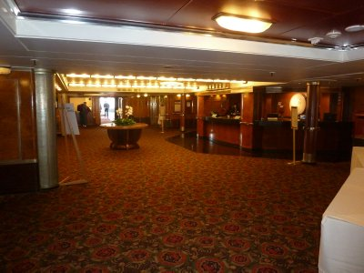 Hotel Reception on 'A' Deck of the Queen Mary