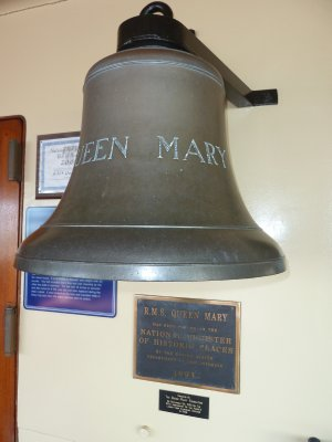 The Ship's Bell on the Queen Mary