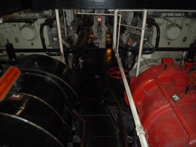 Inside an Engine Room aboard the Queen Mary