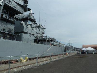 USS Iowa at San Pedro