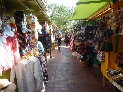 Market stalls on Olvera Street