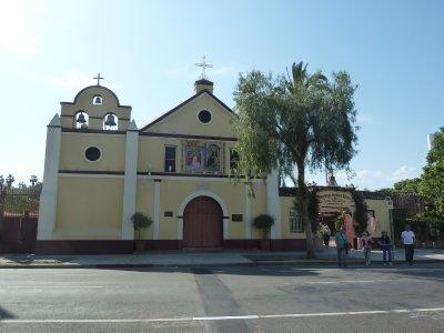 La Iglesia de Nuestra Señora Reina de los Angeles (The Church of Our Lady Queen of the Angels)