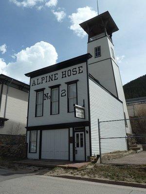 Alpine Hose No.2 Firehouse and Tower, Georgetown, Colorado