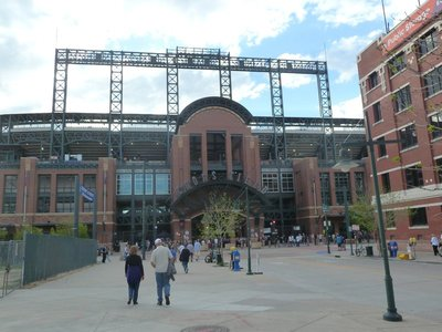 Coors Field - home of the Colorado Rockies Baseball Team