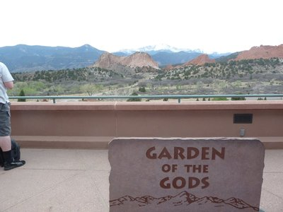 The Garden of the Gods 'Gateway' Rocks from the Visitors Center