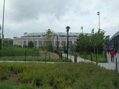 Yankee Stadium in the South Bronx, New York