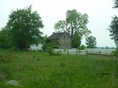 The George Weikert Farm north of Little Round Top