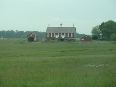 The Codori Farm just south of Gettysburg on the east side of Emmitsburg Road