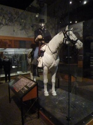 Union Cavalryman on display in the Museum
