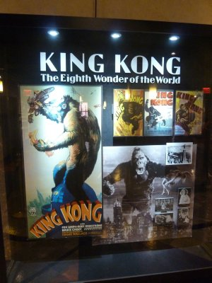 'King Kong' Film Posters on display on the 80th floor