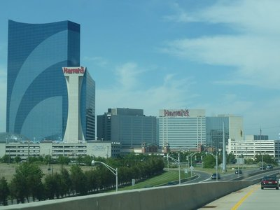 Harrah's flagship hotel and casino in Atlantic City