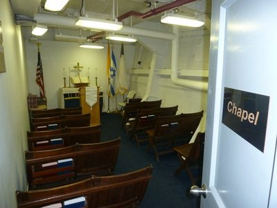 A multi-faith Chapel aboard the USS New Jersey
