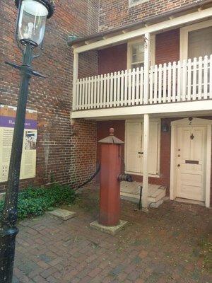 Water pump in Bladen's Court just off Elfreth's Alley