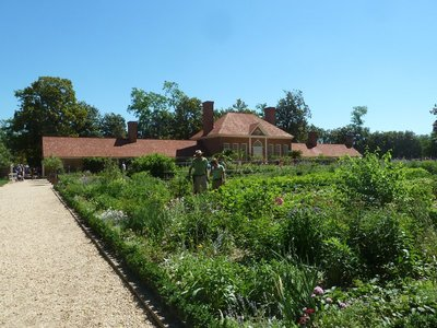 The Greenhouse and Upper Garden at Mount Vernon