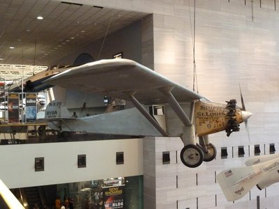 The 'Spirit of St. Louis' - first solo transatlantic flight (1927)