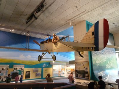 de Havilland DH-4 observation and photoreconnaissance plane from WWI