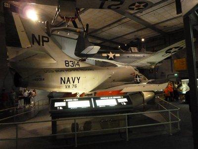 Vietnam War Douglas A-4C Kittyhawk and WWII Douglas SBD-6 Dauntless