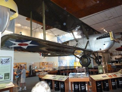 Douglas World Cruiser Chicago which completed the 1st round the world flight in 1924