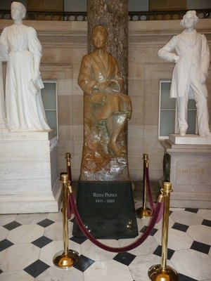 Rosa Parkes' Statue in National Statuary Hall