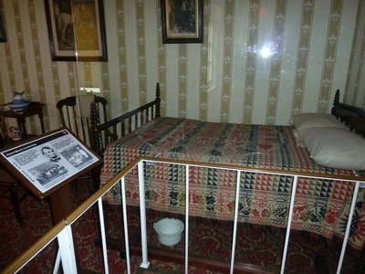 Abraham Lincoln's death bed