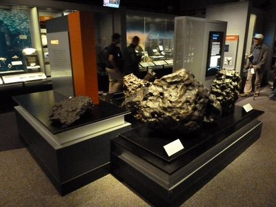 Meteorites in the Gems and Minerals Hall