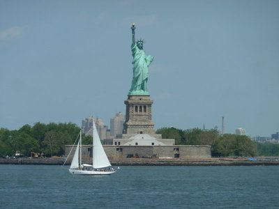 The Statue of Liberty from the Staten Island Ferry