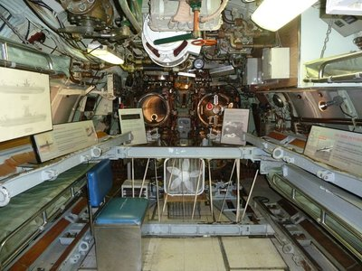 The Forward Torpedo Room aboard the USS Becuna
