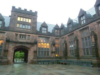 The central court of East Pyne Hall at Princeton University